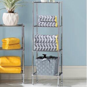 Captivating Free Standing Bathroom Shelving Youu0027ll Love | Wayfair