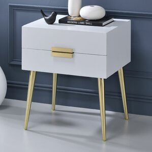 Pierre End Table by Everly Quinn