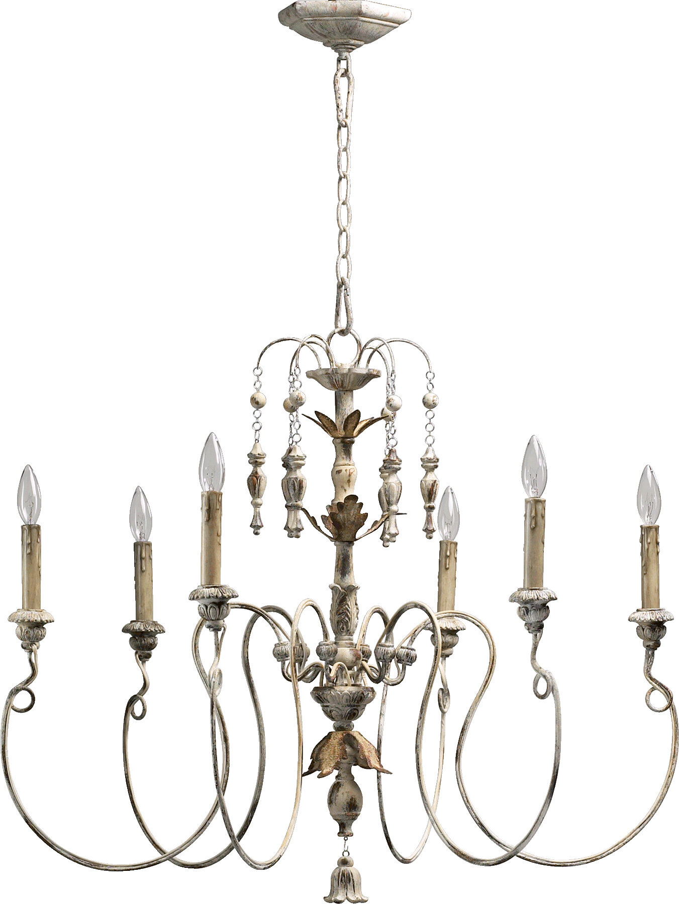 e Allium Way Paladino 6 Light Candle Style Chandelier & Reviews