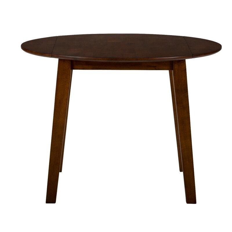 Wallis Drop Leaf Solid Wood Dining Table