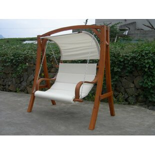 Carol Larch Wood Swing Seat By Kampen Living