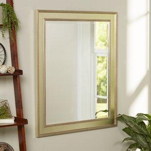 Brushed Gold Bathroom Mirror Wayfair