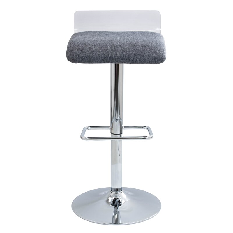Irwin Adjustable Height Swivel Bar Stool Amp Reviews Allmodern