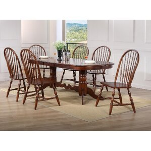 Lozano Double Pedestal Extension 7 Piece Dining Set by Darby Home Co