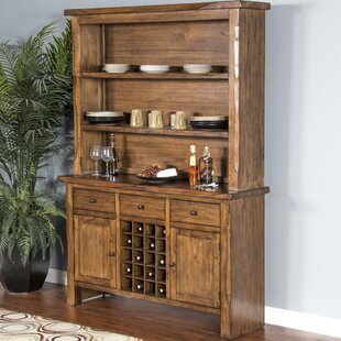 Delicieux Alsatia Live Edge Buffet Table And Dining Hutch