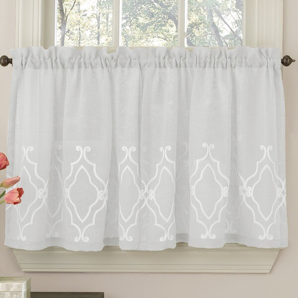 lace bathro curtain htm birds tier p gorgeous bedroom curtains panel kitchen bathroom