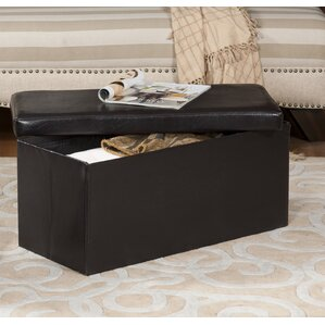 Carillon Upholstered Storage Bench Ottoman b..