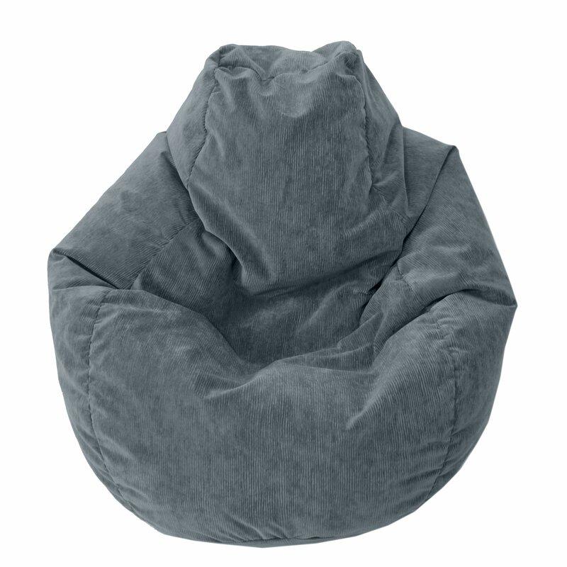 Astounding Teardrop Microfiber Suede Corduroy Bean Bag Chair Uwap Interior Chair Design Uwaporg