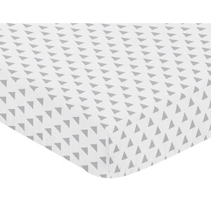 Mod Arrow Fitted Crib Sheet