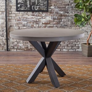 Disanto Round Dining Table by Ivy Bronx