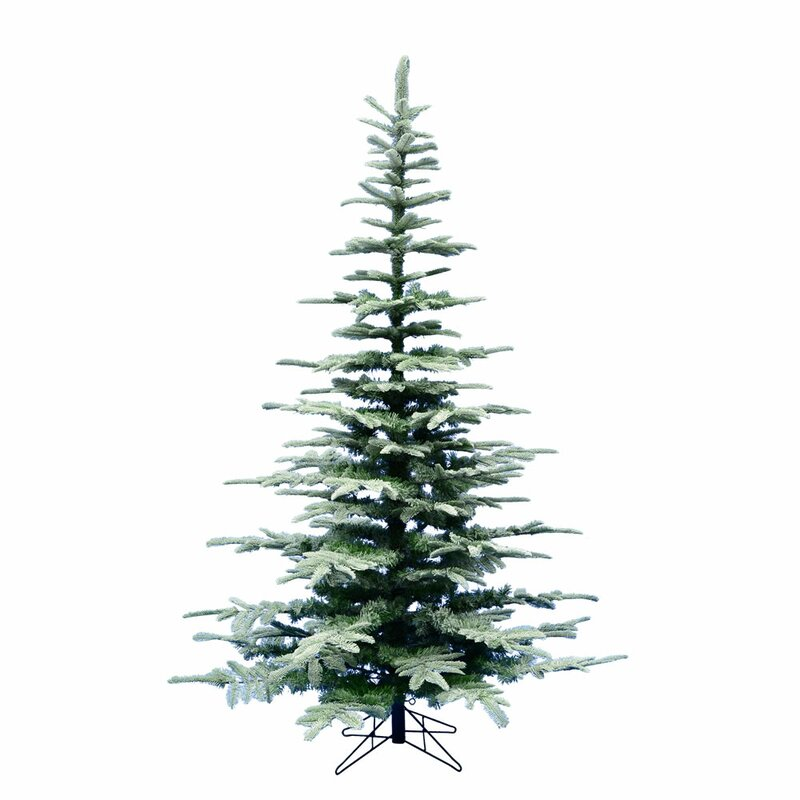 Frosted Ardwell 7' Green Spruce Artificial Christmas Tree - The Holiday Aisle Frosted Ardwell 7' Green Spruce Artificial