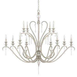 McCarey 12-Light Candle-Style Chandelier