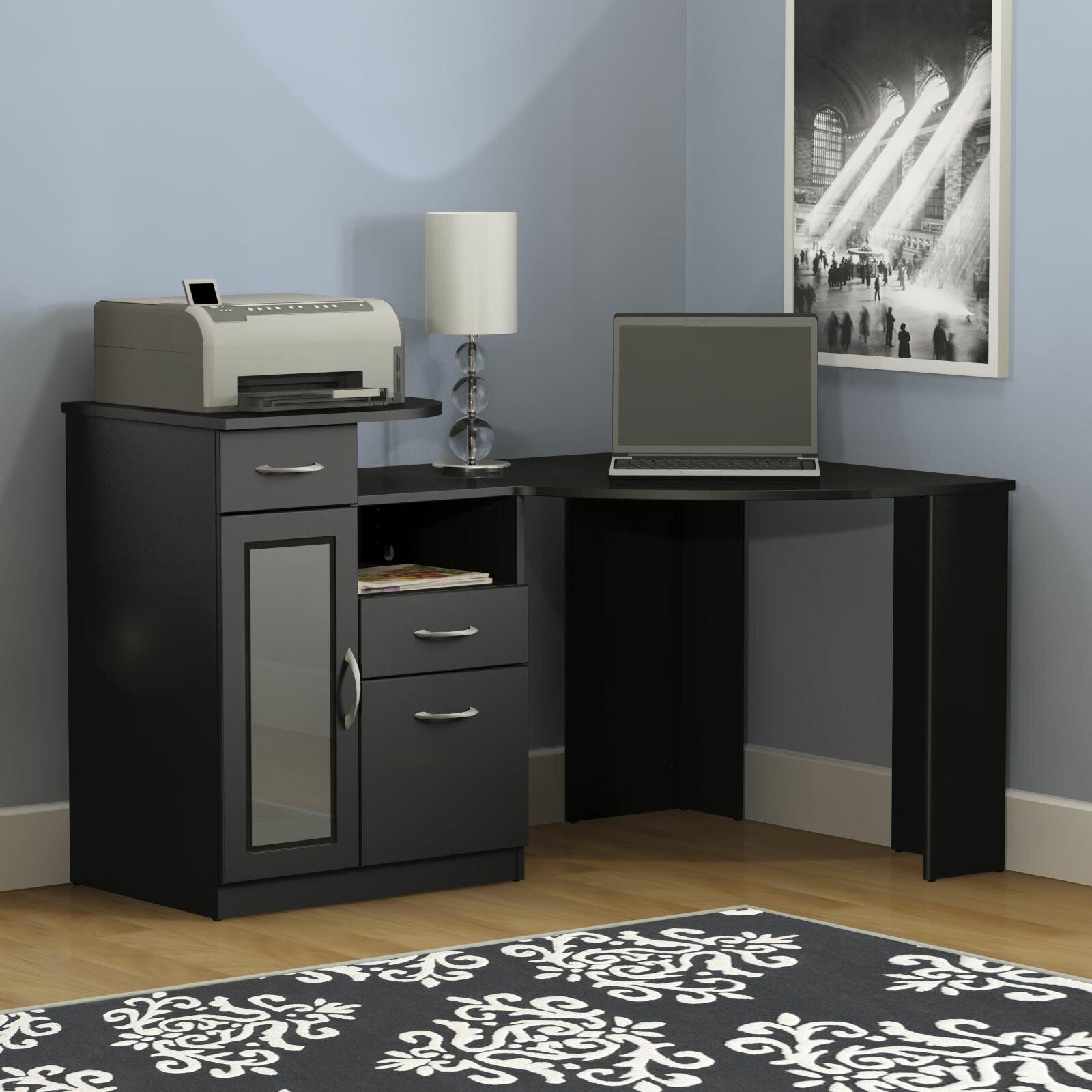Latitude Run Wilmot Corner Desk & Reviews | Wayfair
