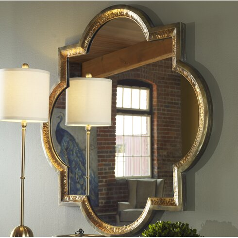 Willa Arlo Interiors Traditional Metal Frame Wall Mirror | Wayfair