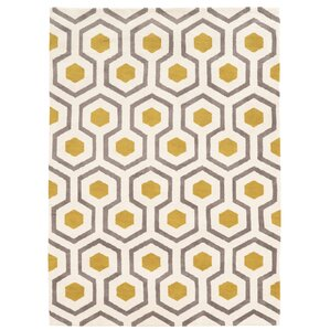 Modern Yellow Gold Area Rugs AllModern