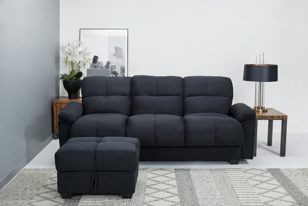leader lifestyle 3 sitzer schlafsofa cate bewertungen. Black Bedroom Furniture Sets. Home Design Ideas