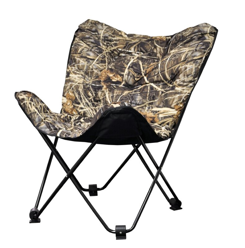 Idea Nuova Realtree Outdoor Butterfly Papasan Chair