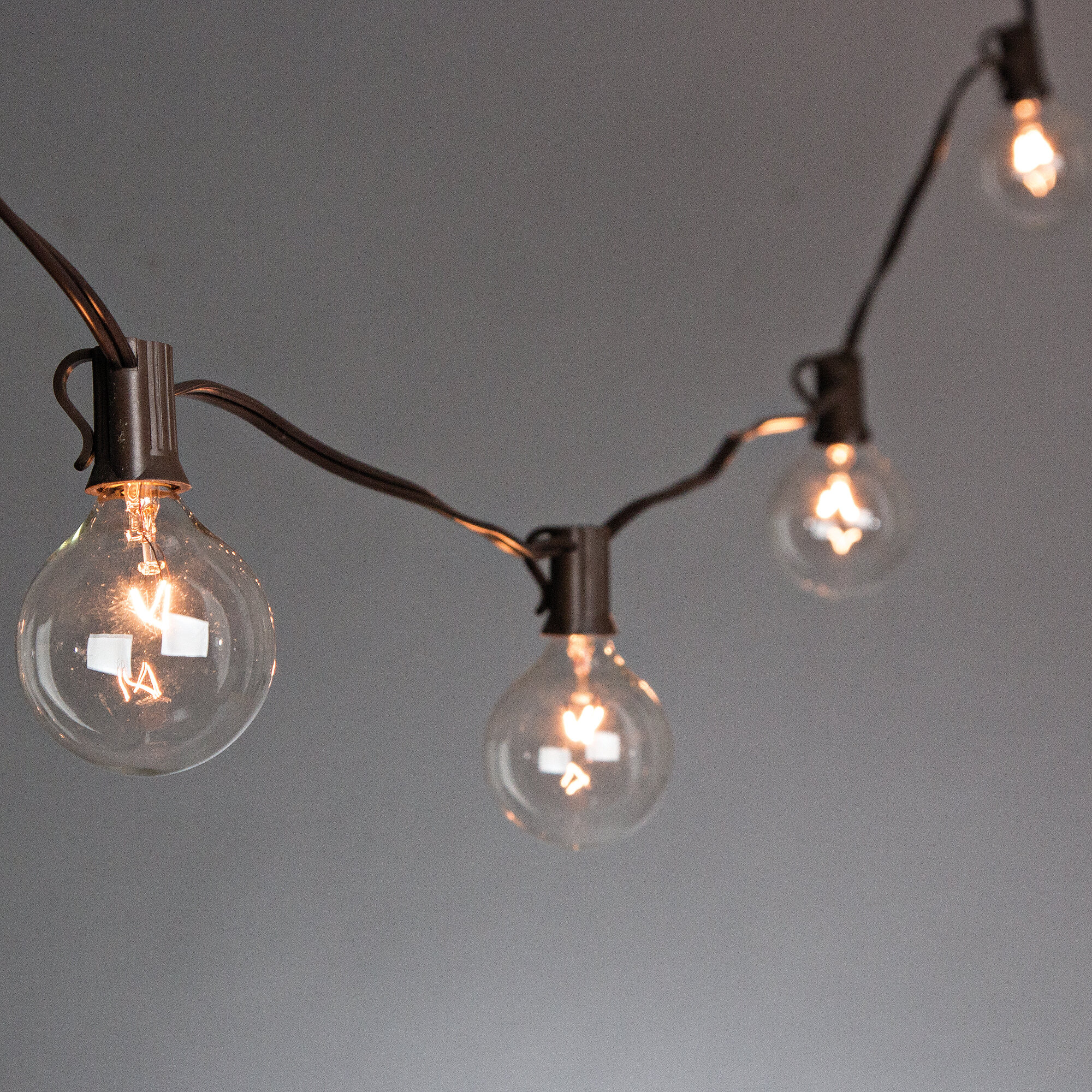 The Gerson Companies 10-Light 9 ft. Globe String Lights & Reviews ...