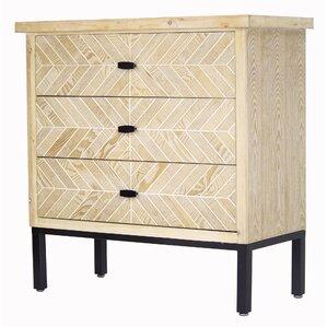 eliza 3 drawer accent chest