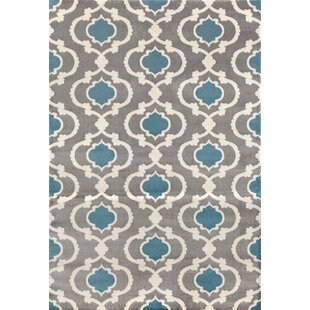 Melrose Gray Blue Area Rug