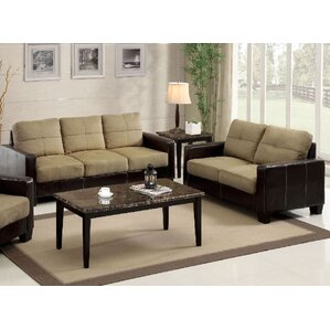 Parma 2 Piece Living Room Set by A&J Homes S..