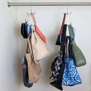 Closet Storage For Purses Wayfair