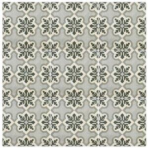 Annata 9.75″ x 9.75″ Porcelain Field Tile in Gray