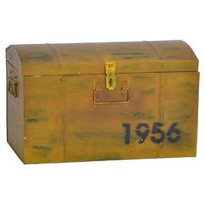 Kiste aus Metall von Hazelwood Home