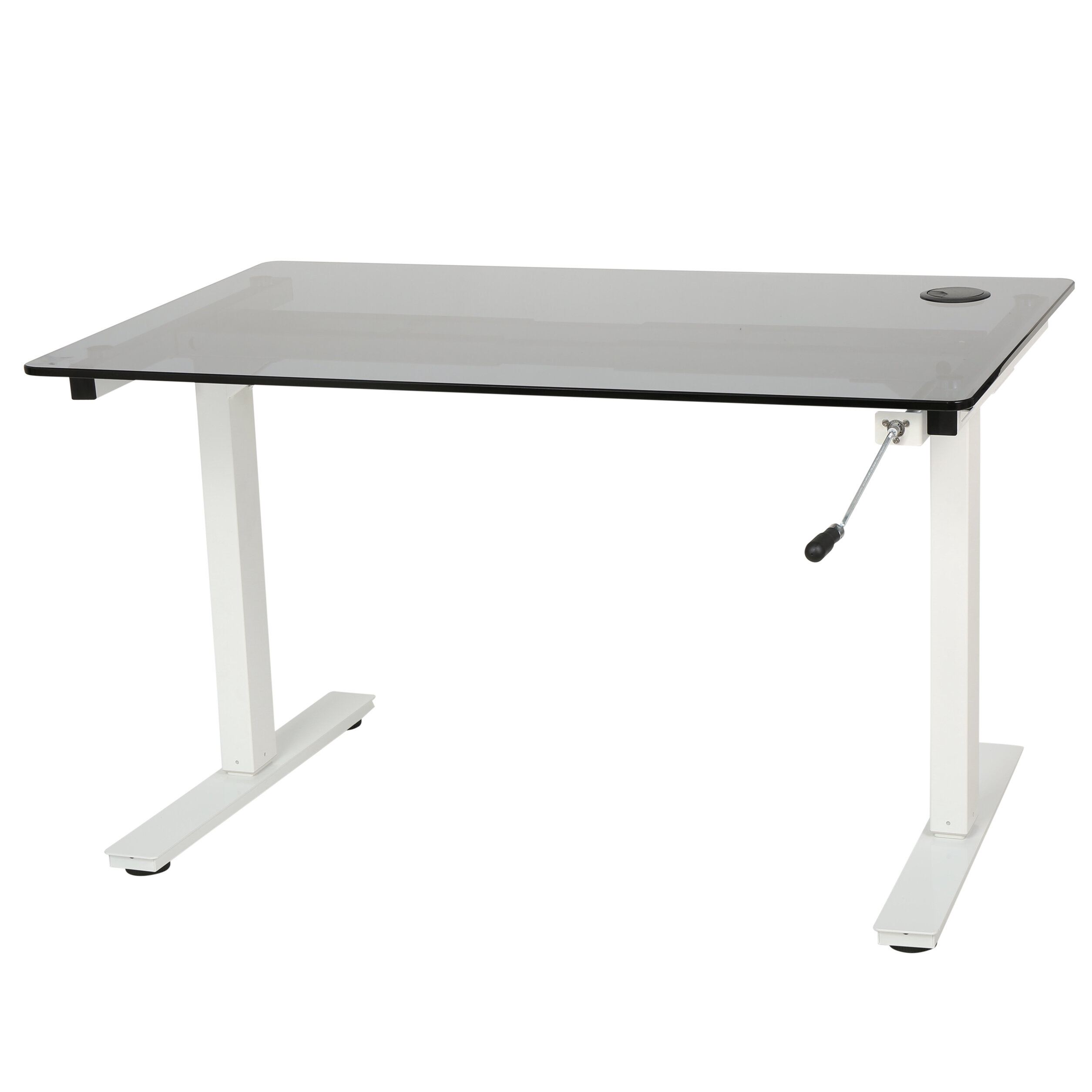 base fast ergonomics white designer combo enwork product desk silver adjustable height and crank captiva