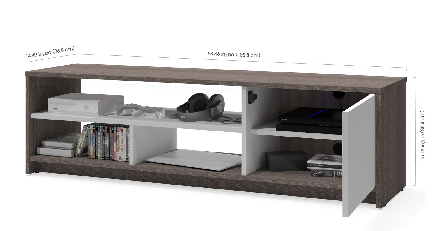 Zipcode Design Chapell 2 Piece Storage Coffee Table And Tv Stand Set