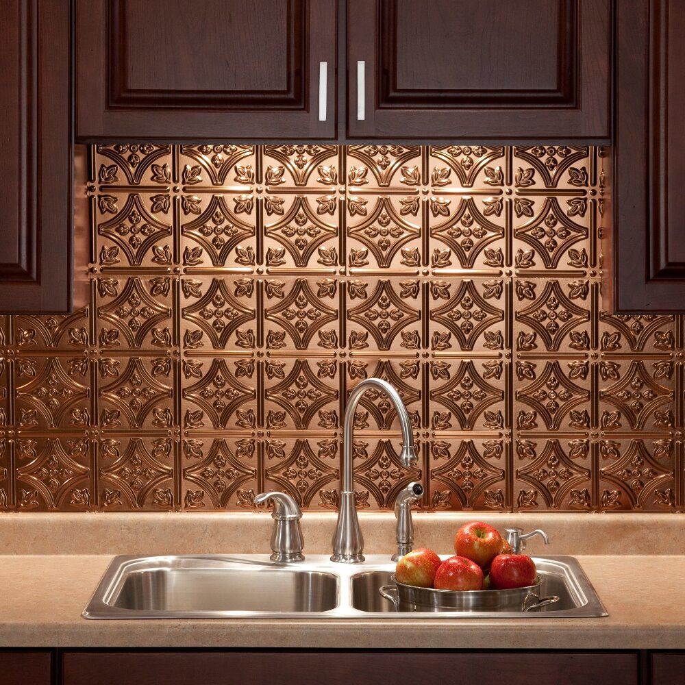 Fasade Traditional 18 25 Quot X 24 25 Quot Pvc Backsplash Panel