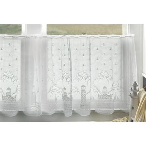 Huffman Ruffled Tier Curtain