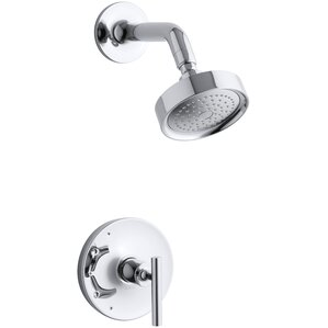 Purist Rite Temp Pressure Balancing Shower Faucet Trim with Lever Handle   Valve NotShower Faucets You ll Love   Wayfair. 2 Knob Shower Faucet. Home Design Ideas