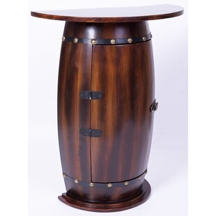 Reigate Barrel Console Bar Cabinet