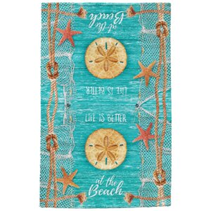 Crestview Sand Dollar Full Face Hand Towel (Set of 2)