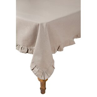 Ruffle Trim Tablecloth