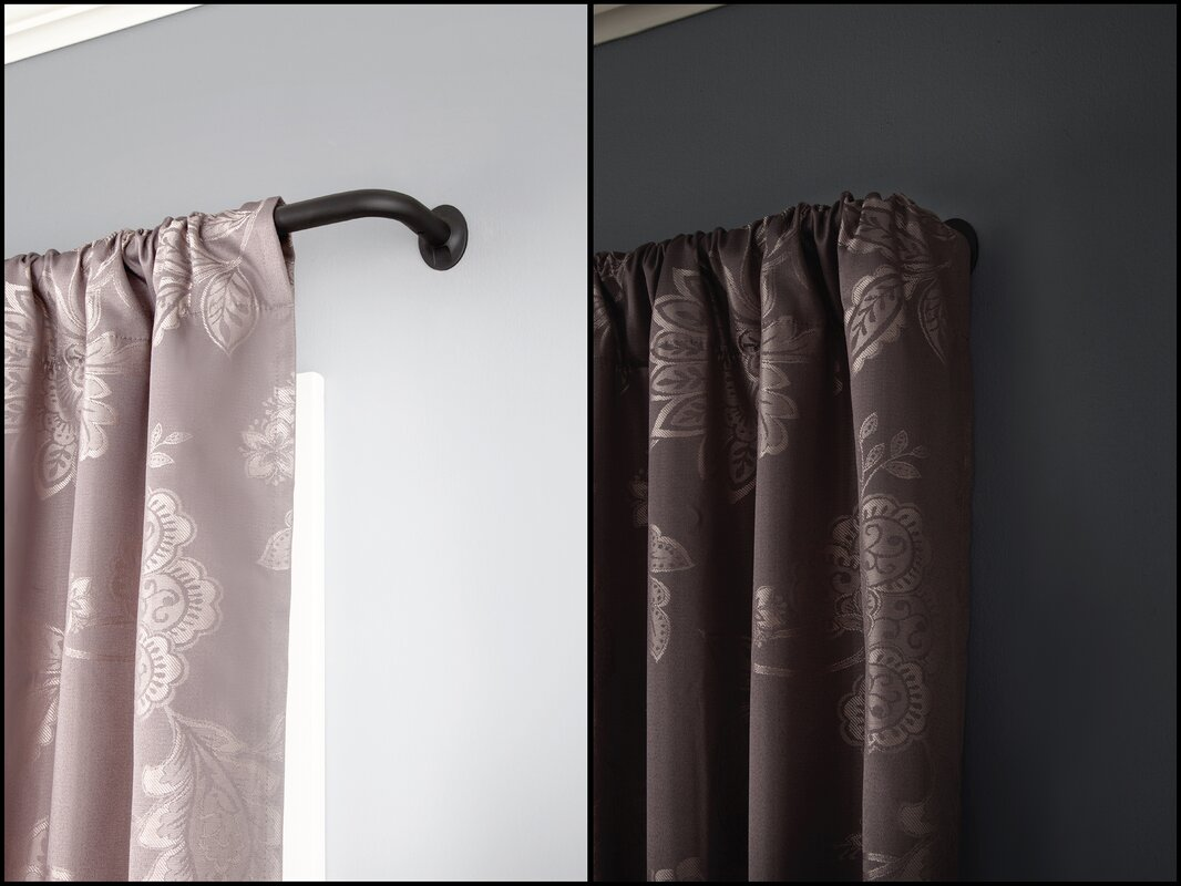 Wrap Curtain Single Rod
