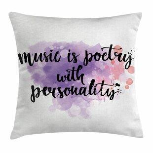 Pillow Quotes Inspirational Quote Pillow | Wayfair Pillow Quotes