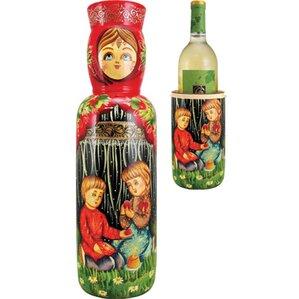 Russia Children 1 Bottle Tabletop Wine Ra..