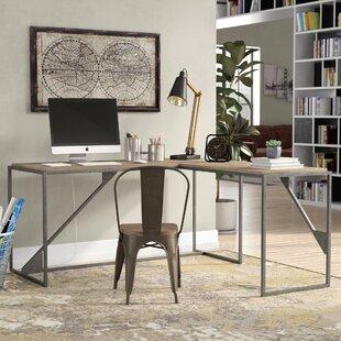 industrial desks you 39 ll love wayfair. Black Bedroom Furniture Sets. Home Design Ideas