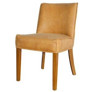 Pierson Bonded Leather Side Chair (Set of 2) by New Pacific Direct