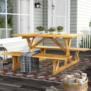 Wood Picnic Tables Youll Love Wayfair