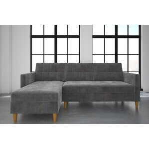 Stigall Sleeper Sectional  sc 1 st  Wayfair : chenille sectional sofa - Sectionals, Sofas & Couches