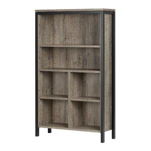 Munich 6 Shelf Standard Bookcase
