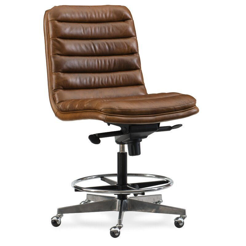 Wyatt Home Office High Back Leather Chair