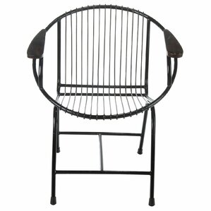 Charming Borst Metal Wire Lounge Chair