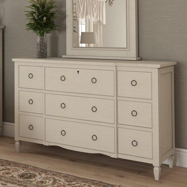 Canora Grey Payton Cottage 9 Drawer Dresser Amp Reviews