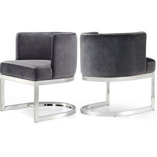 Modern Upholstered Dining Chairs Allmodern