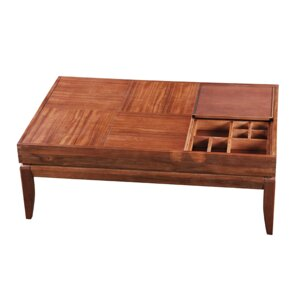 Howe Organizer Coffee Table by Bloomsbury Market