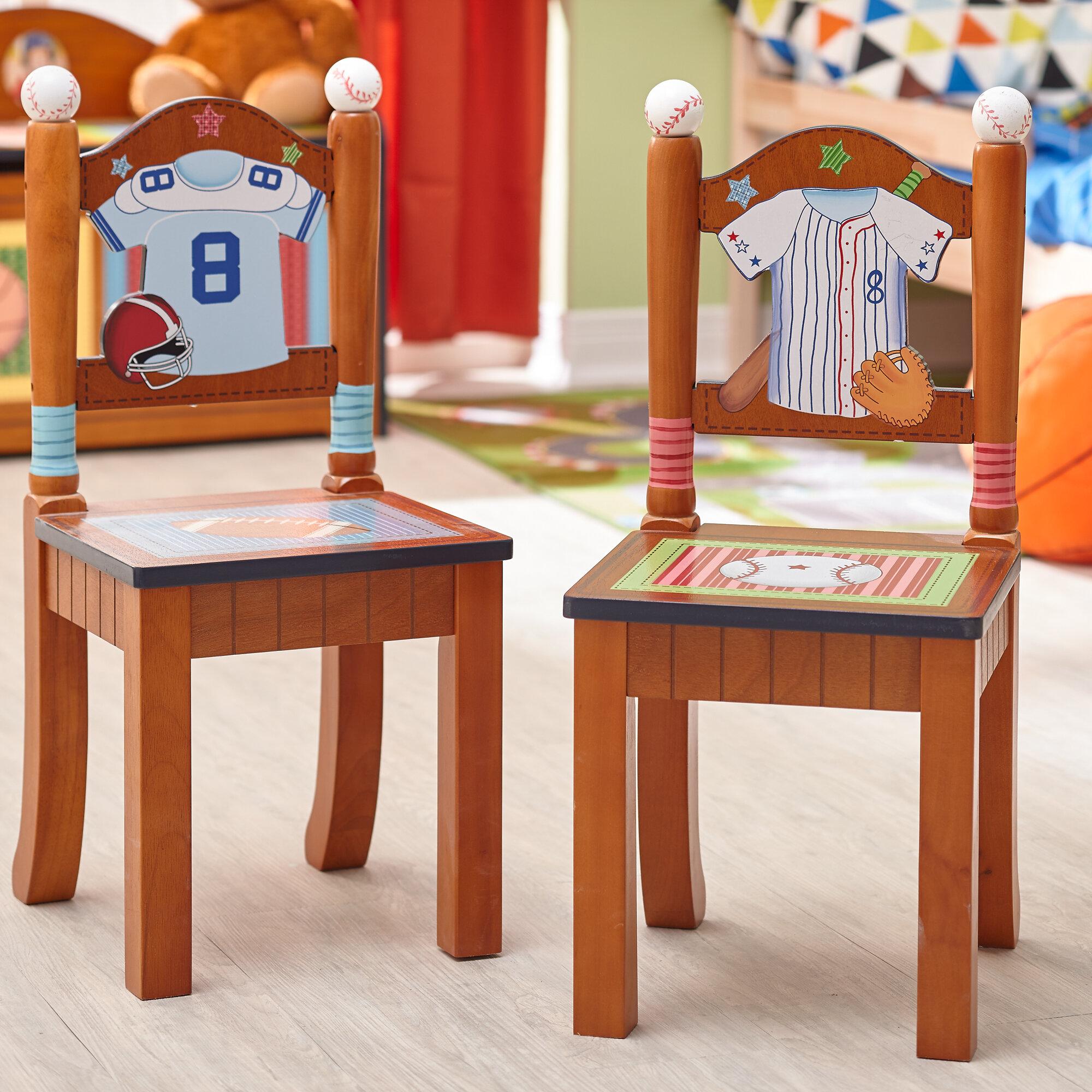 Fantasy Fields Little Sports Fan 2 Piece Kids Desk Chair Set | Wayfair